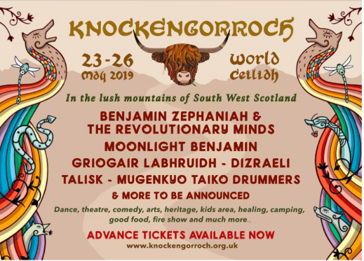 Scottish festival guide SNACK Knockengorroch