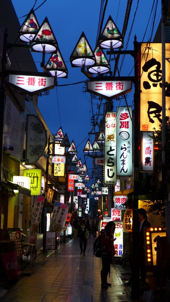 Tokyo lights foodie explorers